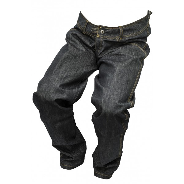 Pánské jeansy černý melír 1