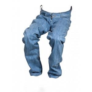 Pánské jeansy zateplené modré 2
