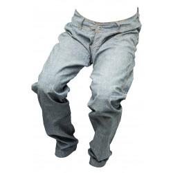 Dámské jeansy šedé 3