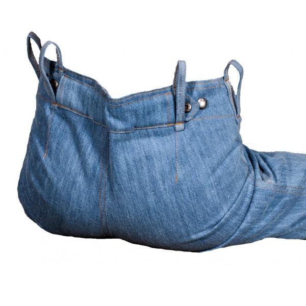 Dámské jeansy zateplené modré 2