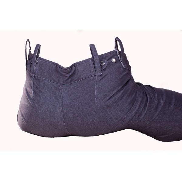 Dámské kalhoty zateplené antracitové