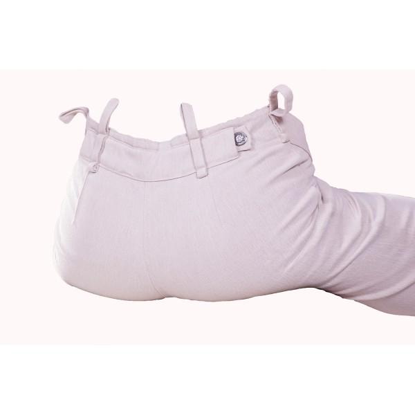 Dámské kalhoty zateplené béžové