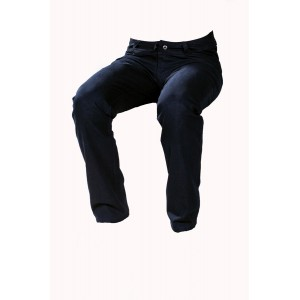Pánské kalhoty zateplené černé