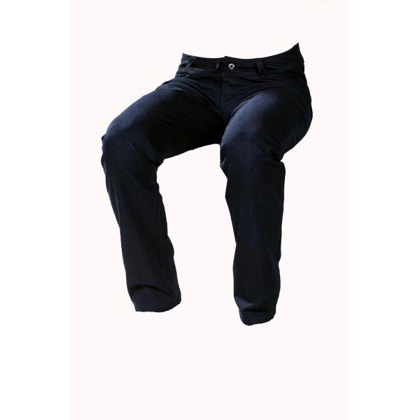 Pánské softshellové kalhoty zateplené černé