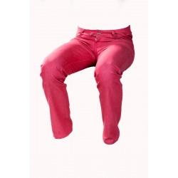 Pánské kalhoty červeno-růžové