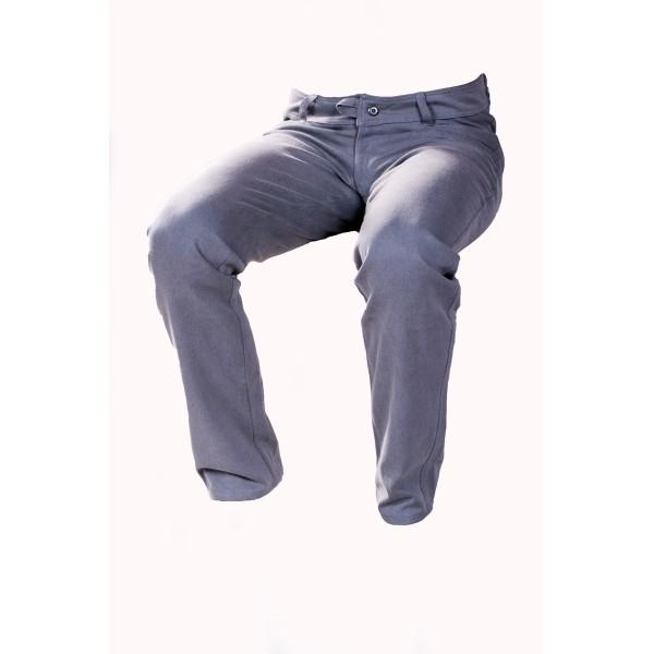 Pánské softshellové kalhoty zateplené šedé