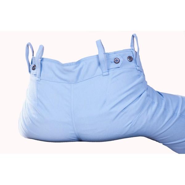 Dámské kalhoty světle modré