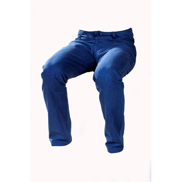 Pánské softshellové kalhoty tmavě modré