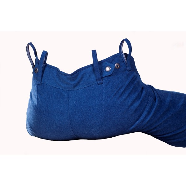 Pánské softshellové kalhoty zateplené tmavě modré