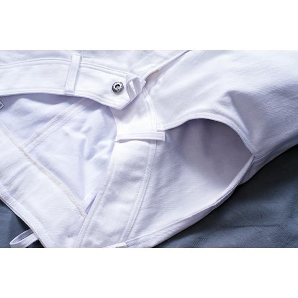 Dámské kalhoty zateplené bílé