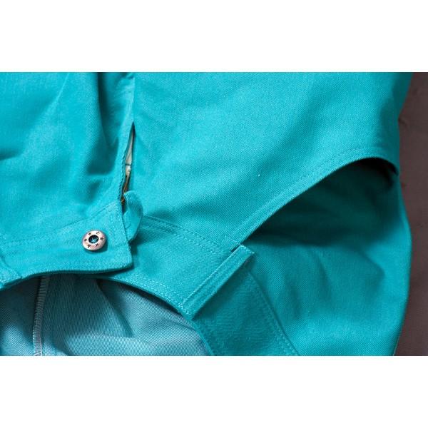 Dámské kalhoty zateplené zelené