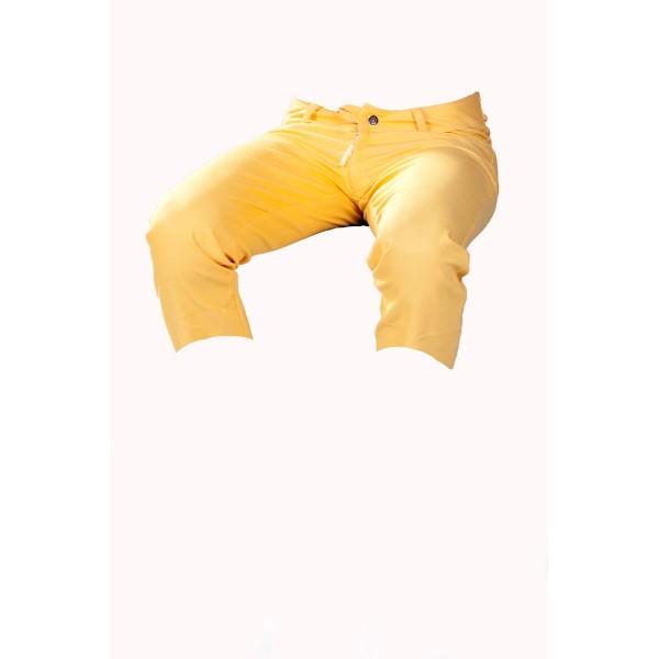 Dámské kraťasy 3/4 žluté