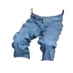 Dámské kraťasy jeans 3/4 modré 2