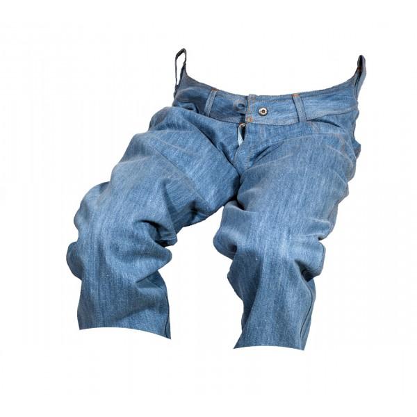 Pánské kraťasy jeans 3/4 modré 2