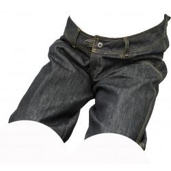 Dámské kraťasy jeans černý melír 1