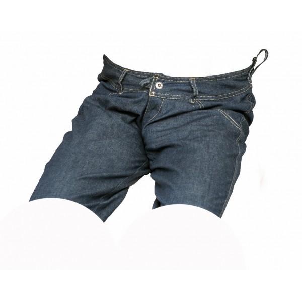 Pánské kraťasy jeans tmavě modré 6