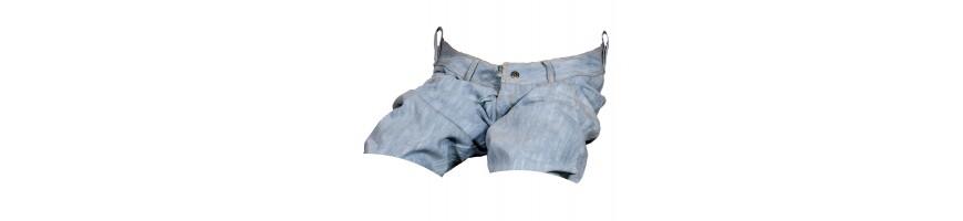Dámské kraťasy jeans