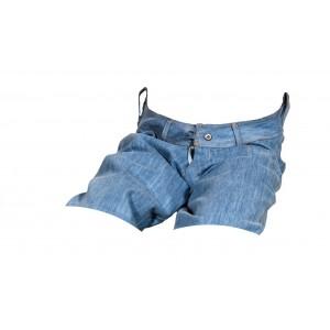 Dámské kraťasy jeans modré 2