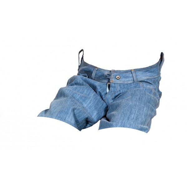 Pánské kraťasy jeans modré 2
