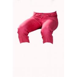 Pánské kraťasy 3/4 červeno-růžové