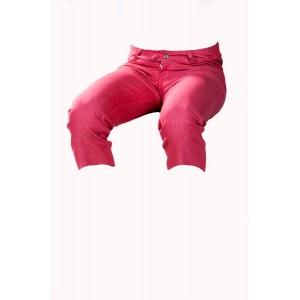 Dámské kraťasy 3/4 červeno-růžové