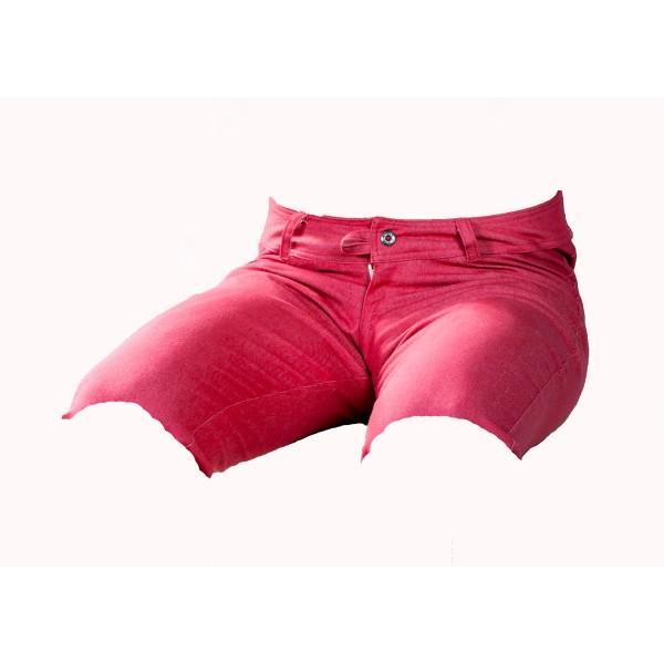 Pánské kraťasy červeno-řůžové