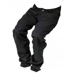Dámské společenské kalhoty černé