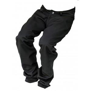 Pánské společenské kalhoty černé