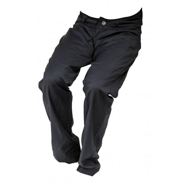 Pánské společnské kalhoty tmavě modré