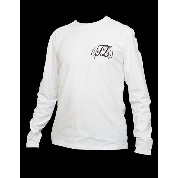 Pánské triko s dlouhým rukávem bílé