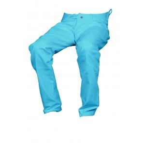 Pánské kalhoty zateplené zelené